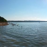 залив Быковки вид на Сылву