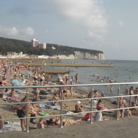 Пляж на Чёрном море