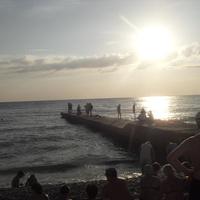 Вечер на Чёрном море