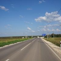 Колдино, перекрёсток дорог