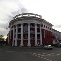 """Проспект Ленина. Гостиница """"Северная""""."""