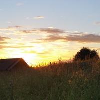 Закат в Раменье