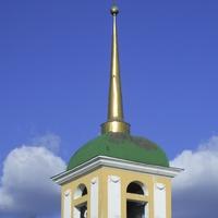 Музей-усадьба Кусково - Верхний ярус колокольни усадебной церкви.