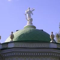 Музей-усадьба Кусково - Купол крыши павильона Эрмитаж.