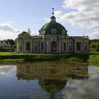Музей-усадьба Кусково - Павильон Грот и пруд.