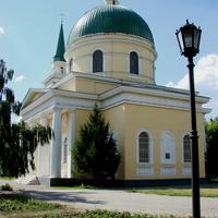 Омск. Собор Николая Чудотворца (Никольский войсковой казачий собор).  13 июля 2008 года