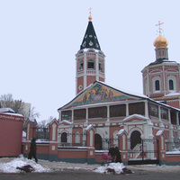Саратов. Кафедральный собор Троицы Живоначальной (СтарыйТроицкий собор).  20 февраля 2010 года