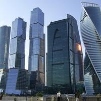 Москва-Сити - Вид с набережной Тараса Шевченко