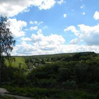 Вид на село Черемошное