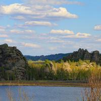 Озеро  Колыванское.