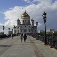 Москва - Храм Христа Спасителя и Патриарший мост