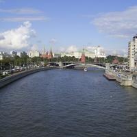 Москва - Вид на кремль с Патриаршего моста