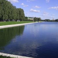 Музей-усадьба Кусково - Большой дворцовый пруд