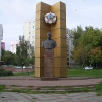 Н. Новгород - Памятник маршалу Рокоссовскому К.К.