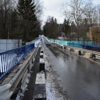 """Мост на р.Десна в сторону """"Писательских дач"""""""