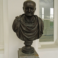 Камеронова галерея. Скульптура Веспасиана