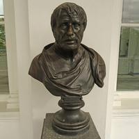 Камеронова галерея. Скульптура Сенеки