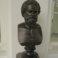 Камеронова галерея. Скульптура Сократа