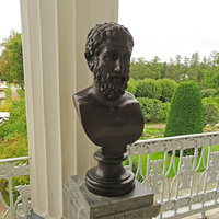Камеронова галерея. Скульптура Эпикура