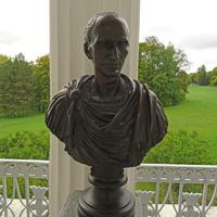 Камеронова галерея. Скульптура Юлия Цезаря