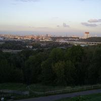 Москва - Вид с Воробьевых гор