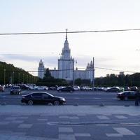 Москва - На Воробьевых горах