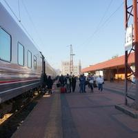 Желездорожный вокзал города Белгород