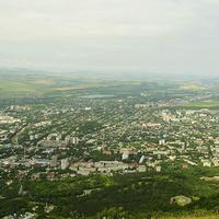 Вид на Пятигорск с горы Машук. 2014г.
