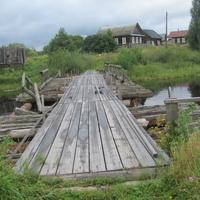 Мост через р. Туханька  в Б. Лохово