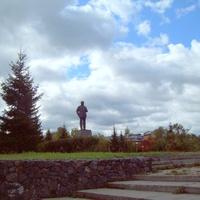 г. Шелехов памятник В.И.Ленину