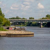 Устье Тверцы и Тверецкий мост