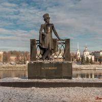 Городской сад. Памятник А.С. Пушкину, 1974 г.
