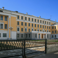 Улица Желябова. Гимназия №12.