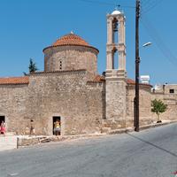 Селение Тала близ Пафоса. Храм Святой Анны.