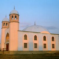 Мечеть в Ленино.  18 августа 2005 года