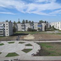 Терновка.Октябрь 2016 года.Бульвар Героев Космоса.
