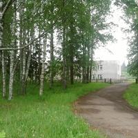 Лутовёнка, новая  школа, 1998 года  постройки.