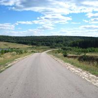 Село Суроватиха,дорога к Центру ликвидации