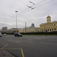 Москва. Площадь трёх вокзалов.