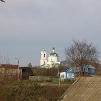 с. Борисовское. Церковь Василия Великого
