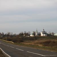 с. Кидекша, Борисоглебский монастырь