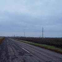 Дорога к Вихляевке.