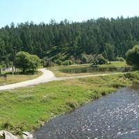 Большой Луг.Ханчин.Река Олха.