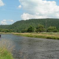 Большой Луг.Река Олха.Вдали 36.