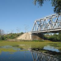 Россошь. Железнодорожный мост