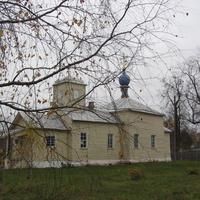 """Бор. Церковь иконы Божией Матери """"Всех скорбящих Радость"""". Год постройки 1858"""