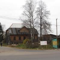 Бор, частный дом, остановка автобуса