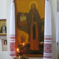 Храм Успения Пресвятой Богородицы в пос. Бор. Убранство.