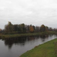 пос. Бор, река Мста