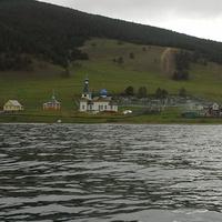 Вид на Церковь с Байкала
